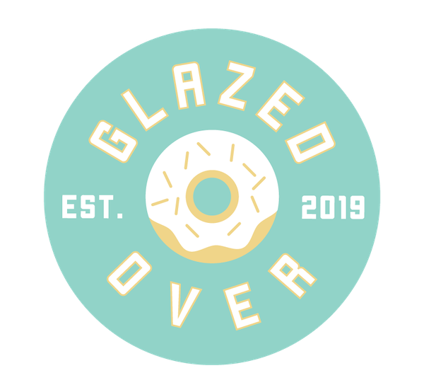 Glazed Over Donut Logo